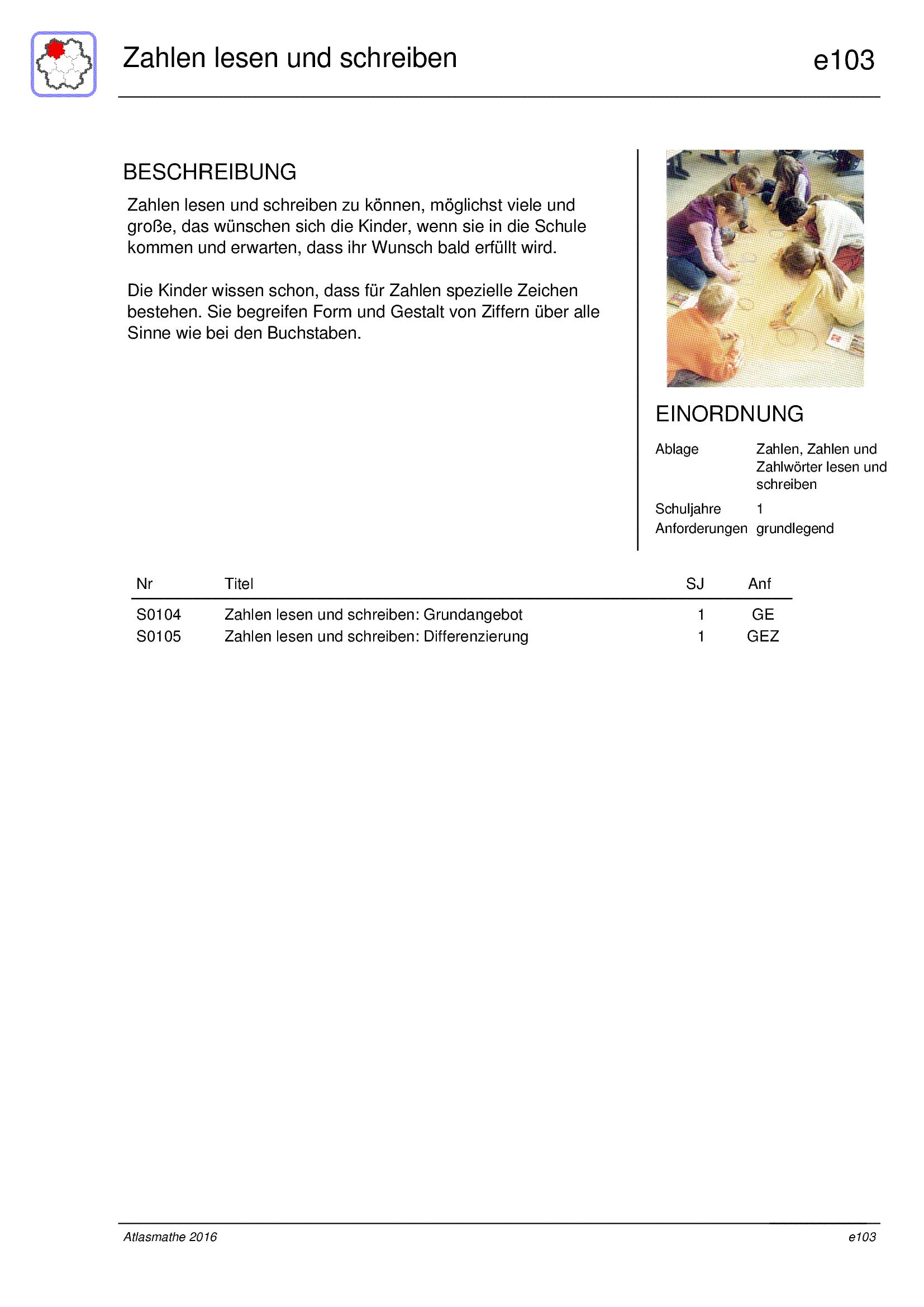 zahlen und zahlwörter bis 20 lesen und schreiben lernpläne